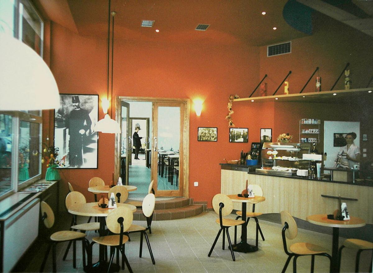 Kavárna Praha 10 - rekonstrukce