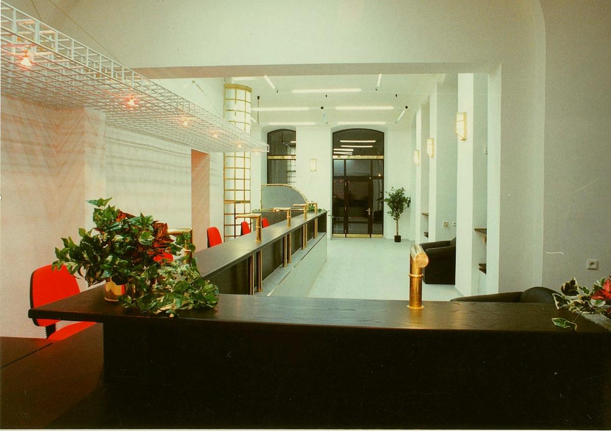 Bankovní interiér Praha 5