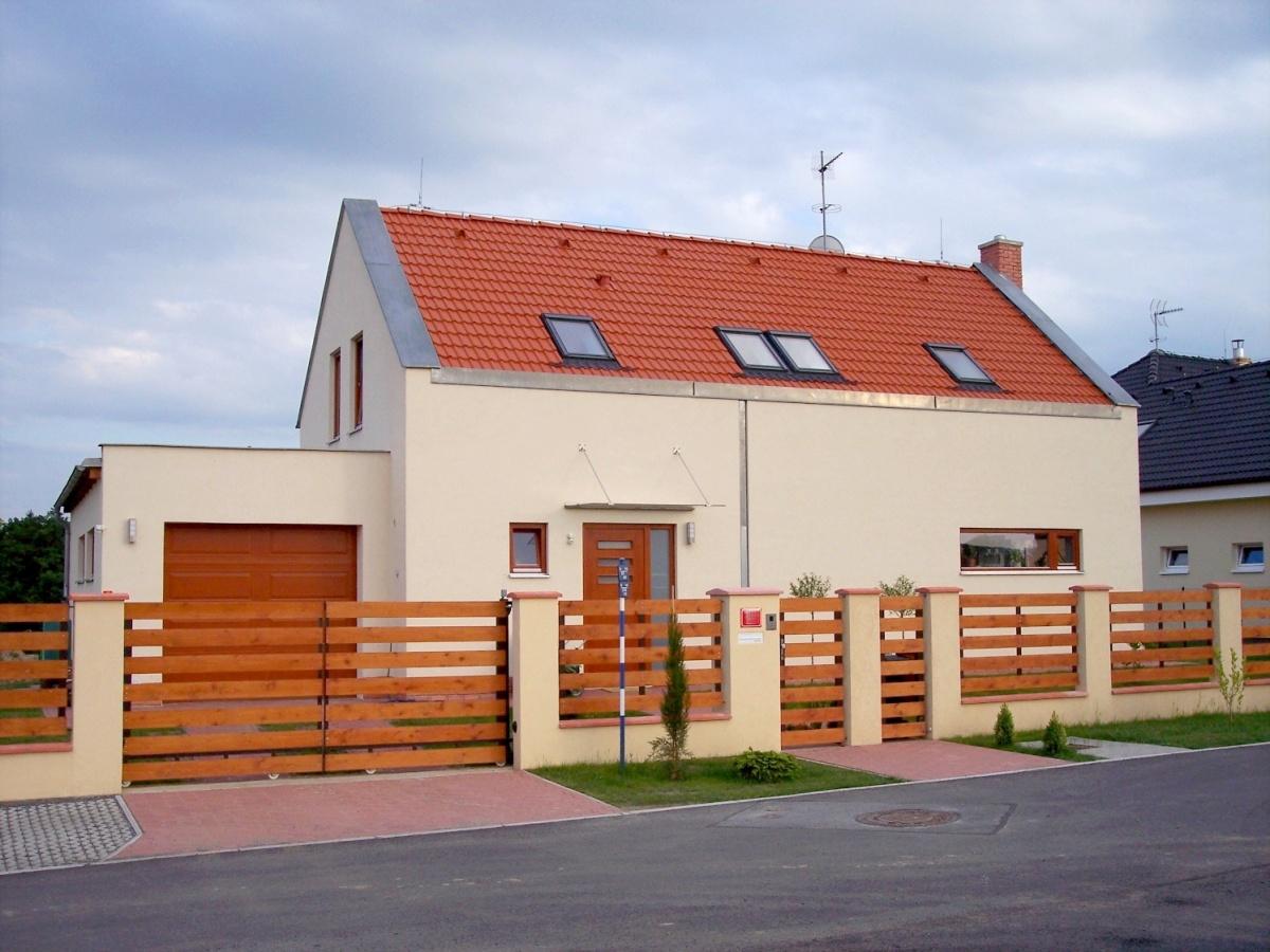 Rodinný dům Křeslice - novostavba